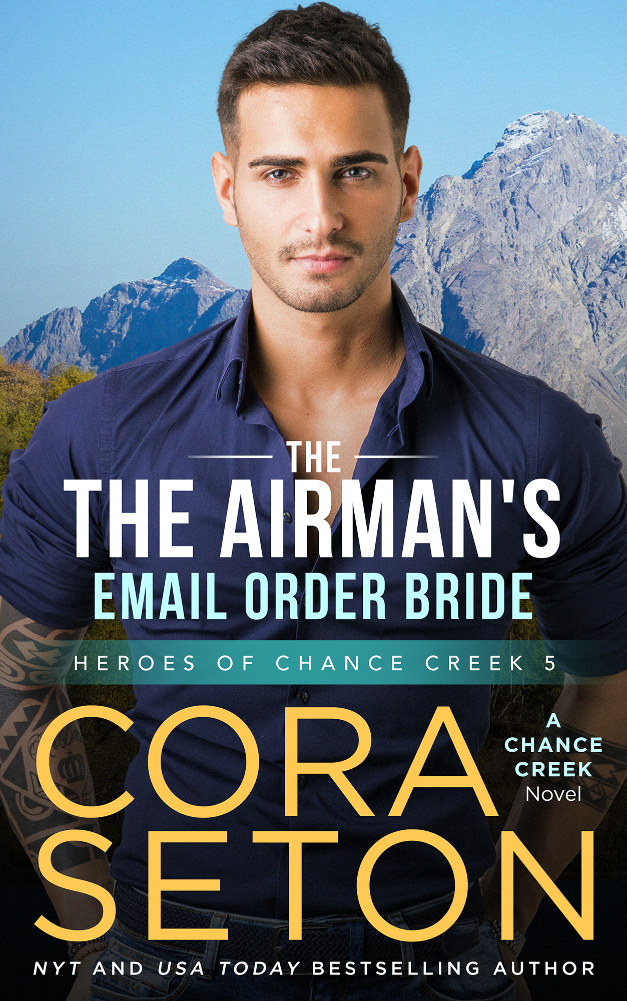 The Airman's E-Mail Order Bride (Book 5)