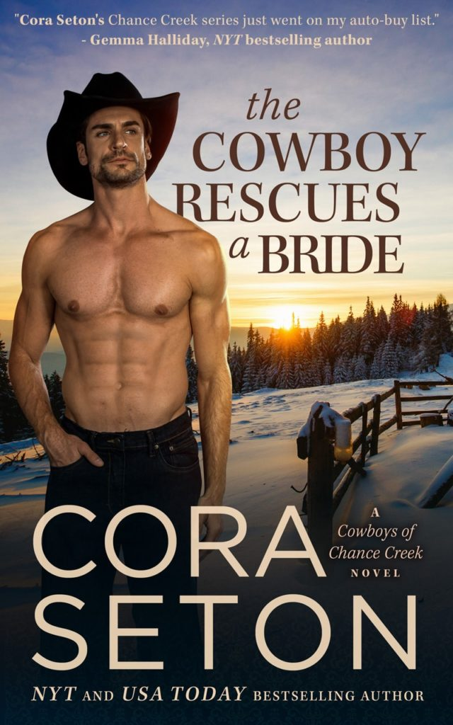 The Cowboy Rescues a Bride