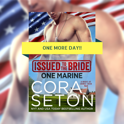 Sneak Peek Of Issued To The Bride One Marine