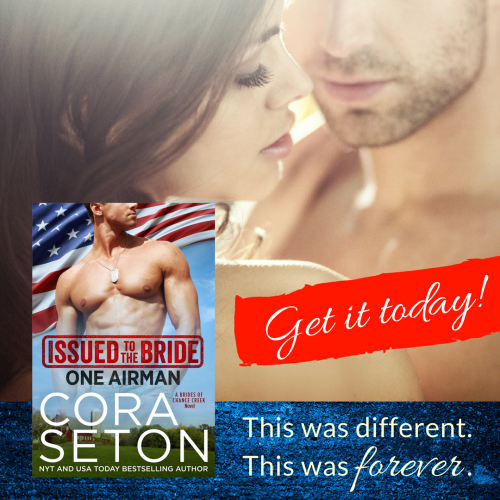 Release Day! Issued to the Bride: One Airman