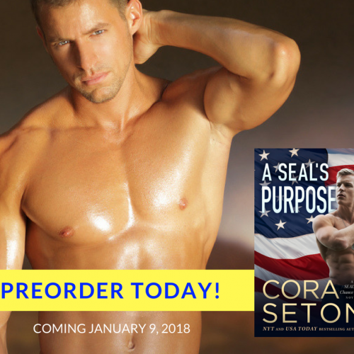 Coming January 9, 2018: A SEAL's Purpose