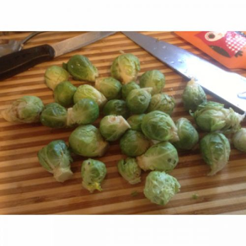 Yummy Brussels Sprouts!