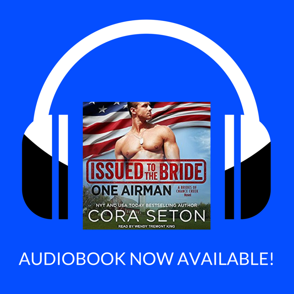 Issued to the Bride: One Airman is now available on audiobook