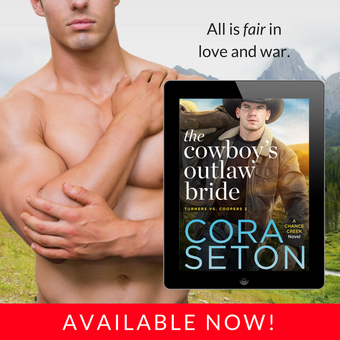 New release! Get THE COWBOY'S OUTLAW BRIDE today