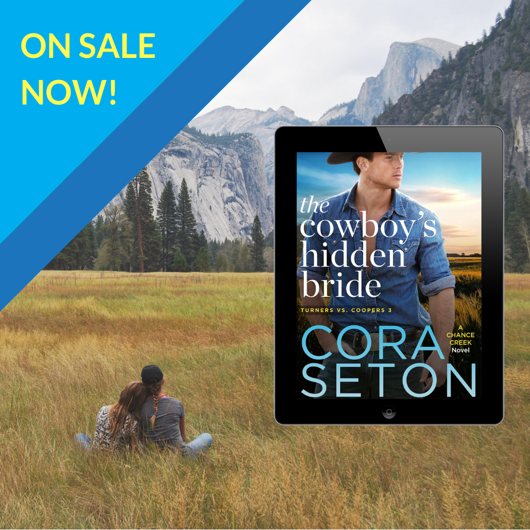 The Cowboy's Hidden Bride is out today!