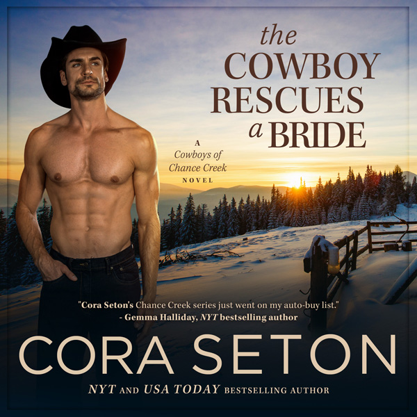 The Cowboy Rescues a Bride Audiobook